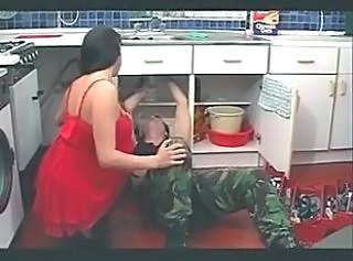 Amateur Brunette Kitchen MILF Russian