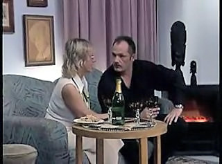 Amateur Blonde Drunk German Glasses Mature