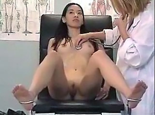 Asian Doctor Lesbian Pussy Shaved Small Tits Uniform
