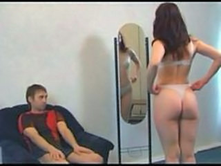 Amateur Ass Brunette Lingerie MILF Mom Russian