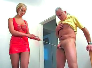 Stretched Balls Handjob Session