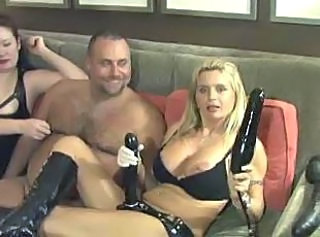 strapon and dildo play...BMW