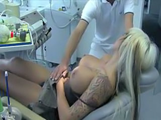 Babe Big Tits Blonde Doctor MILF Pornstar Sleeping Tattoo