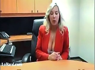 Babe Big Tits Blonde Office Pornstar Secretary Wife
