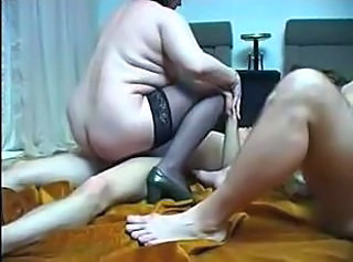 Homemade group sex with mature lady and sweet blond girlie will mak...