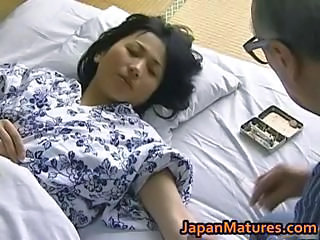 Hot Asian babe has mature sex part5