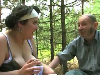 Amateur Drunk Old and Young Smoking