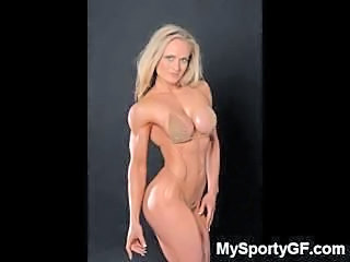 Amateur Bikini Girlfriend Muscled
