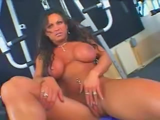 Hot Mature Busty Brunette Bodybuilder Banged