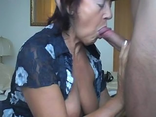 blowjob granny oma swallow schlucken