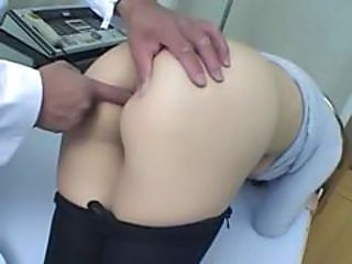 Chinese Doctor Fisting Pantyhose Uniform