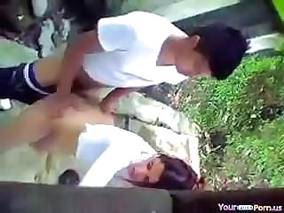 Voyeur Tapes A Teen Couple Having Doggystyle Sex