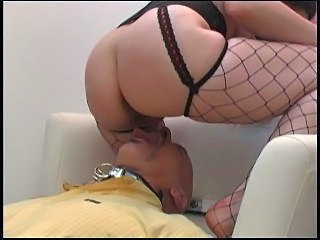 Ass Facesitting Femdom Fishnet Licking Slave