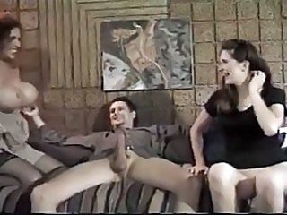 Amazing Big Tits Groupsex MILF Threesome Vintage