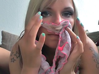 Dirty Panty Sniffing Babe.