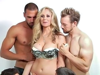 Sexy Mom's Interview And Multi Young Cocks...F70