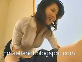 Asian Bus Cute Japanese Massage
