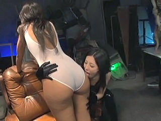 Amazing Asian Ass Lesbian Long hair MILF