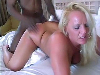 Blonde Doggystyle Interracial Mature