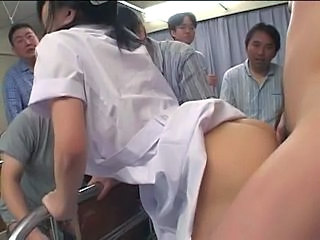 Asian Clothed Doggystyle Gangbang Groupsex Hardcore Japanese Nurse Uniform