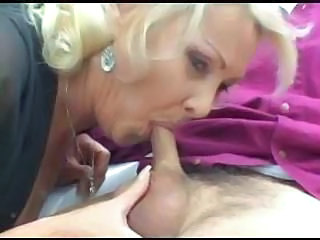Blowjob Clothed Mature Small cock