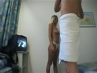 Amateur Blonde European German Homemade Wife