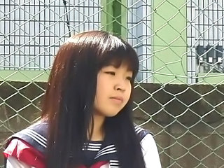 Asian Brunette Cute Japanese School Teen Uniform
