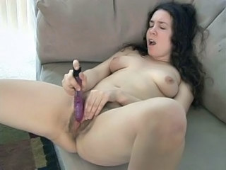 Dildo Hairy Masturbating Toy
