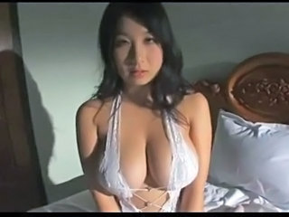 Asian Babe Big Tits Brunette Cute Lingerie Natural