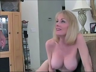 Amazing Big Tits Blonde Cute Mature Wife