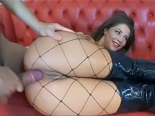 Amazing Anal Ass Cute Fishnet Teen Young