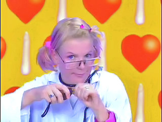 Blonde CFNM Cute Glasses Pigtail Teen
