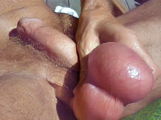playing with my huge balls in...