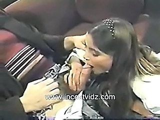 Blowjob Brunette Cute Daddy Handjob