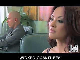 Hot Tight Asian Secretary Fucks The Bosses Big Dick In The Office