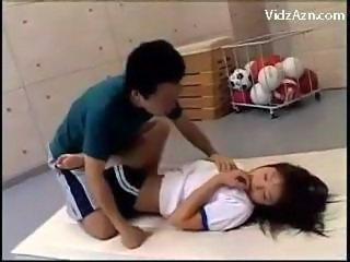 Amateur Asian Cute Sport Teen Train Young