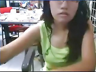Amateur Morena Gafas Adolescente Webcam