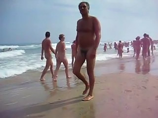 Nudist beach Cap d'Agde