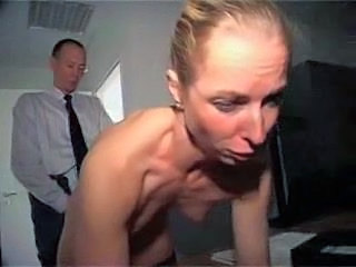 Amateur Blonde Doggystyle Mature Office Secretary Small Tits
