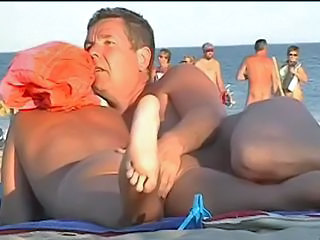 Beach Masturbating Outdoor Voyeur