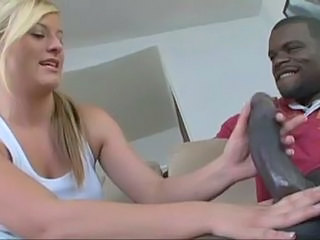 Blond Teen Fucks A Black Dude For The First Time