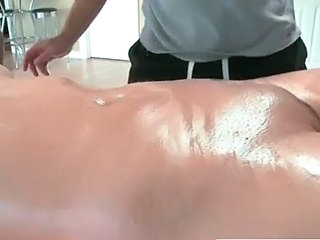 Massage Oiled Shaved