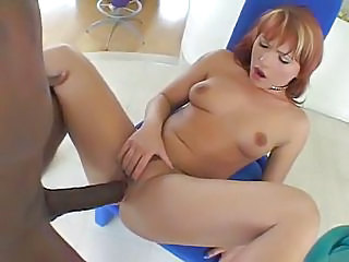 Big cock Interracial Redhead Small Tits