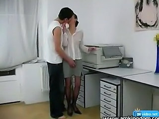 Office Sex With Shy Girl