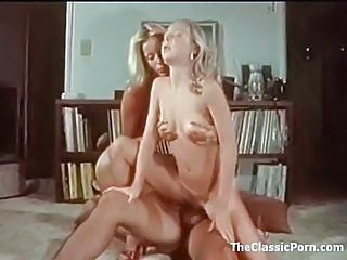 Sexy Retro Threesome Is Erotical...
