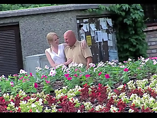 Blonde Cute Old and Young Outdoor Young