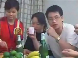 Amateur Chinese Drunk Party