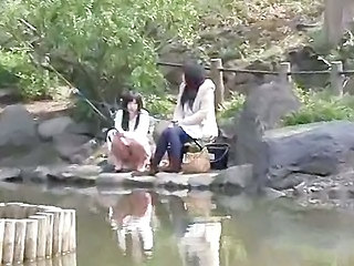 Amateur Japanese Outdoor Teen