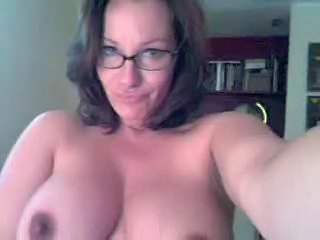 Amateur Big Tits Brunette Glasses Mature