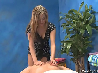 Blonde Cute Massage Teen